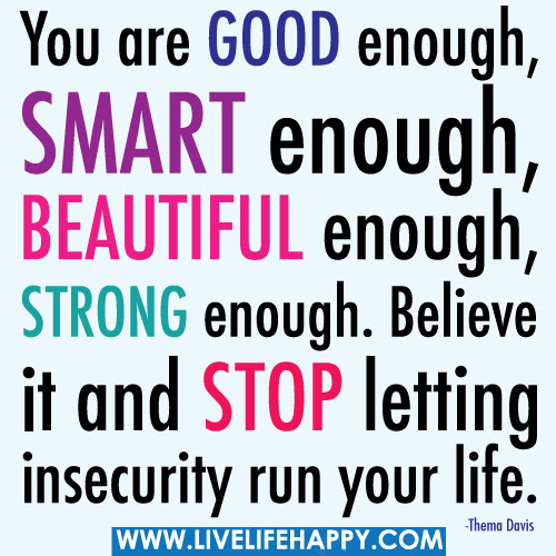 You Are Good Enough Smart Enough Beautiful Enough Strong Enough