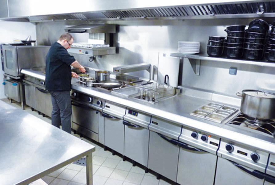 Compact Commercial Kitchen Design | Home Design Ideas Essentials