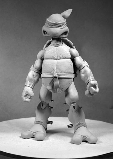 NECA's TMNT // Raphael sculpt peek  ..[[Courtesy of S.Murphy]]