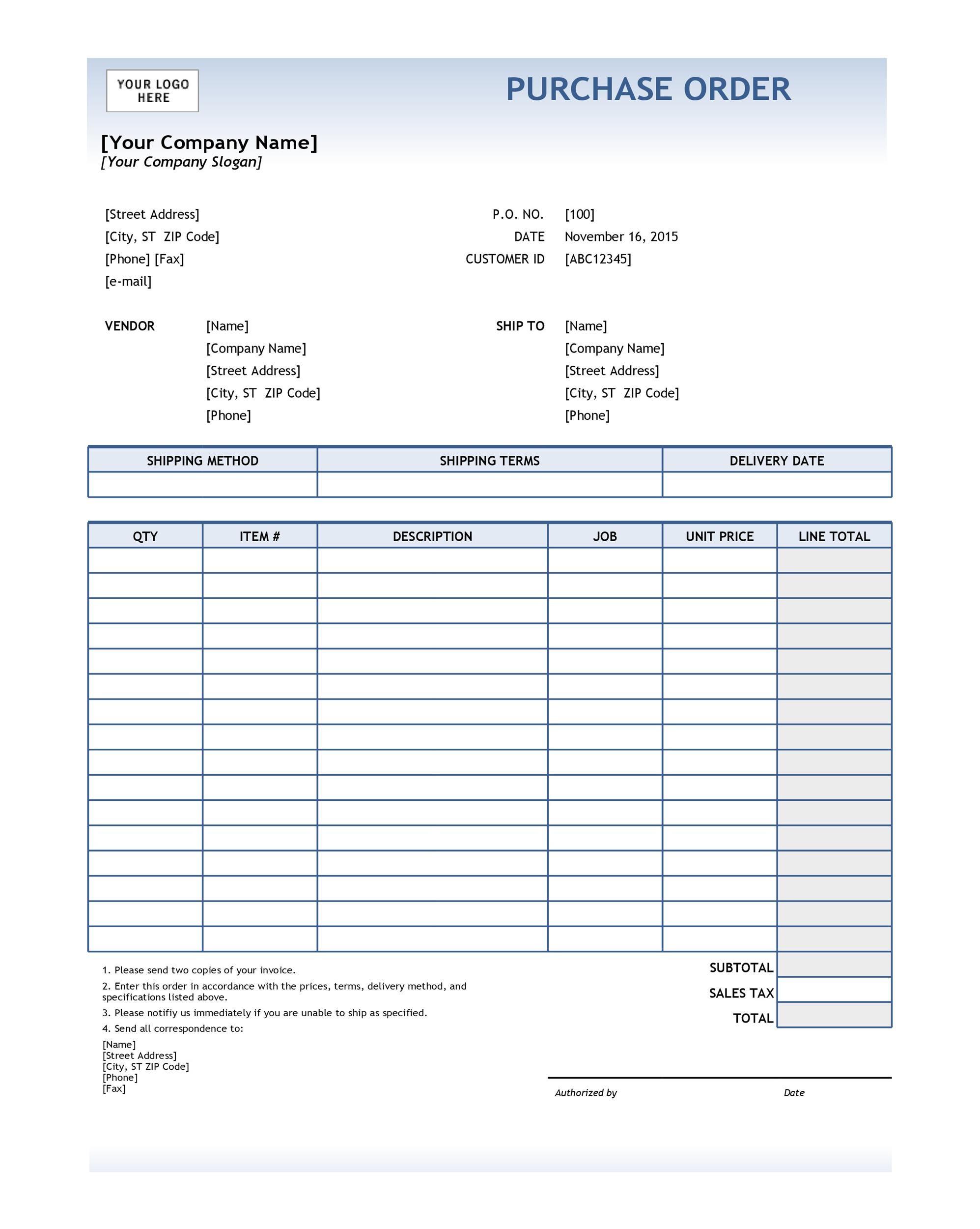 Contoh Surat Purchase Order Dalam Bahasa Indonesia Kumpulan Surat Penting