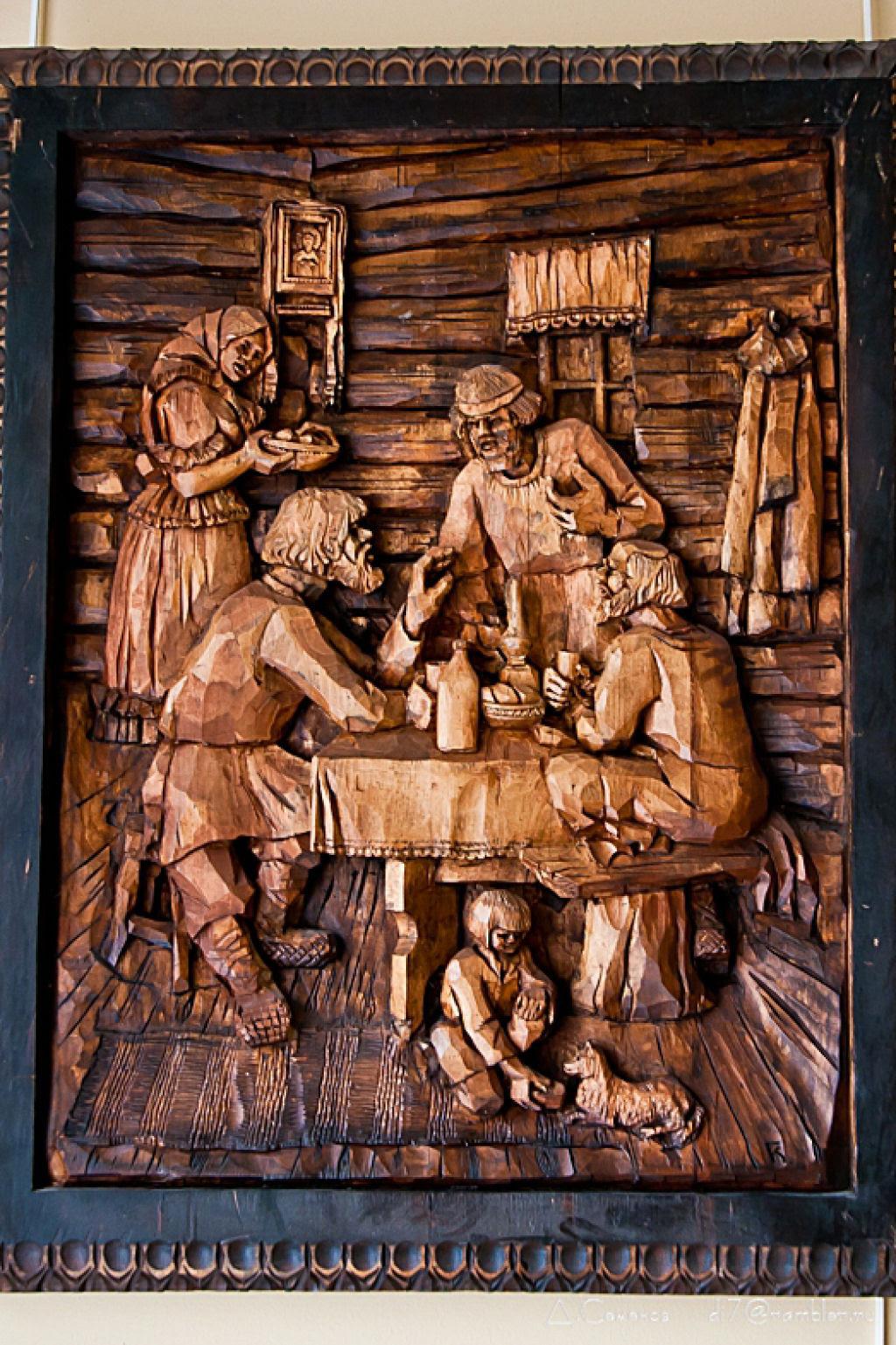 As incríveis pinturas esculpidas de Kronid Gogolev 11