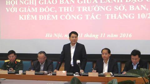 Chủ tịch Hà Nội: Có thể cho thôi việc cán bộ đánh cụ ông