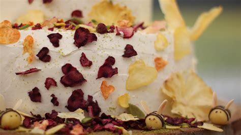 Midsummer Dream Wedding Cake Recipe   PBS Food