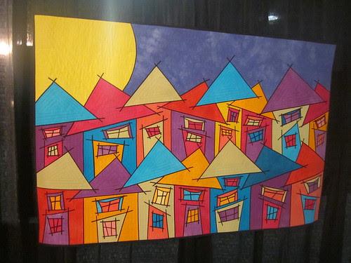 """Tutti Frutti Village"" by Susan Bleiweiss of Upton, MA"