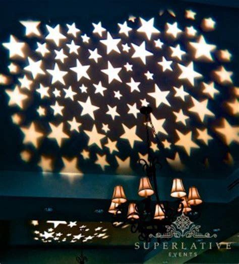 Starry Sky Gobo Texture Lighting   Gobo Projector Rental