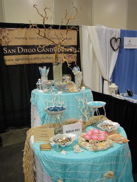 Beach themed candy bar, San Diego Candy Buffets, $920/200