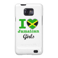Jamaican Design Galaxy SII Cases