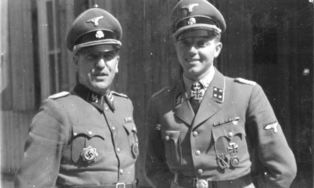 Fritz Klingenberg (r.)