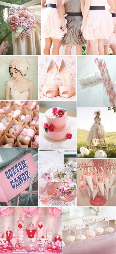 Candy Floss Themed Wedding Inspiration Board   Confetti.ie