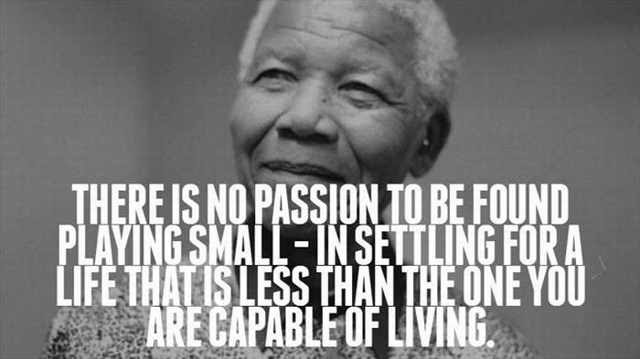 Inspiring Quotes past times the Great Nelson Mandela