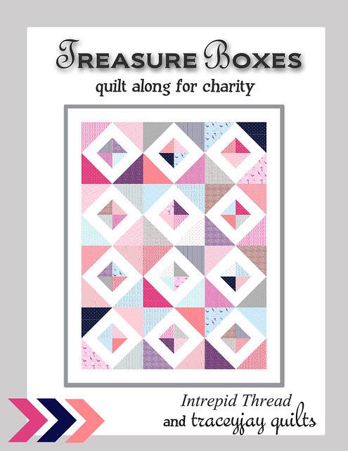 Treasure Boxes Quilt Along