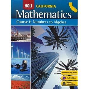 Holt mathematics course 1 answer book online - DerickDarnell's blog
