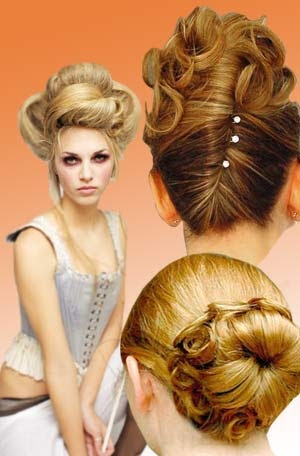 Style Naturally Curly Hair on Informative Women Portal Updo Hair Style