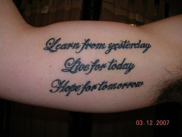 Best Quality Tattoo Good Tattoo Quotes For Men
