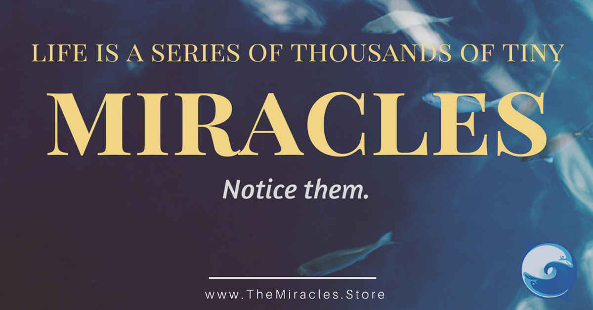 21 Miracle Quotes To Inspire You Daily The Miracles Store