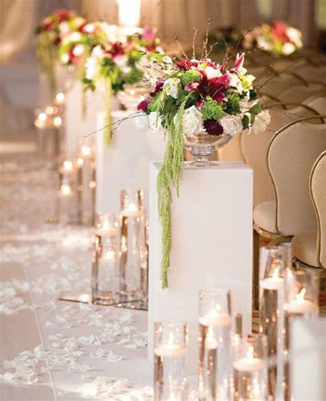 Amazing Wedding Ceremony Aisle Decor Inspiration   crazyforus