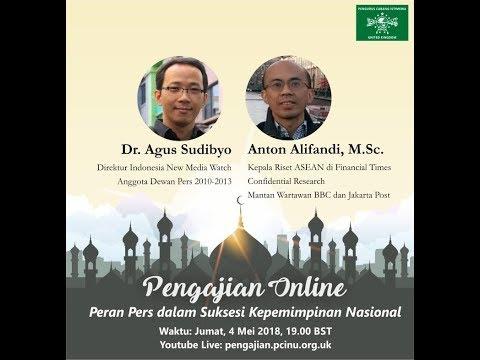 """Pengajian Online - """"Peran Pers dalam Suksesi Kepemimpinan Nasional"""""""
