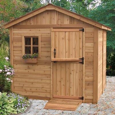 Gardenerft 8 Ft. W x 8 Ft. D Wood Garden Shed | Wayfair