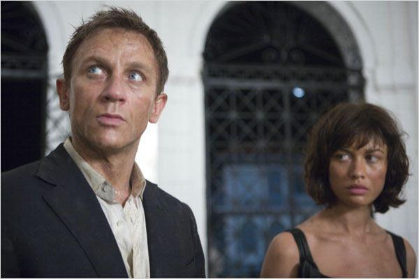 Quantum Of Solace : Photo Daniel Craig, Marc Forster, Olga Kurylenko