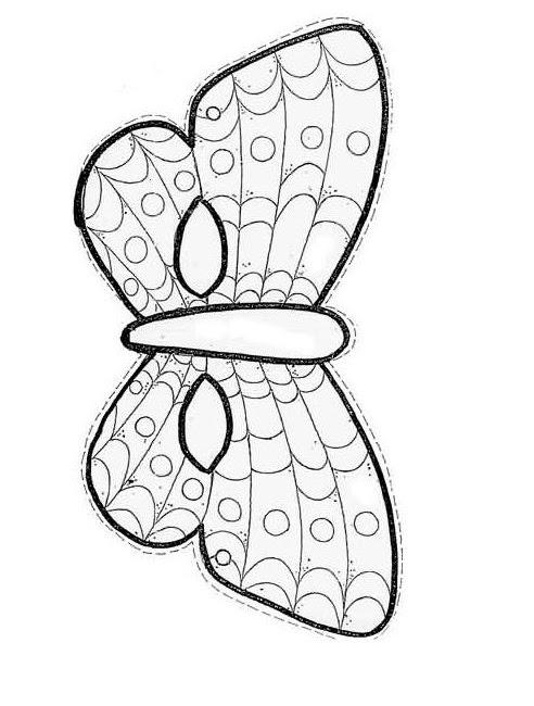 Kağıt Kelebek Maskesi