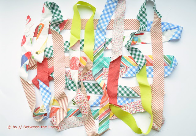 A year in scraps :: bias tape