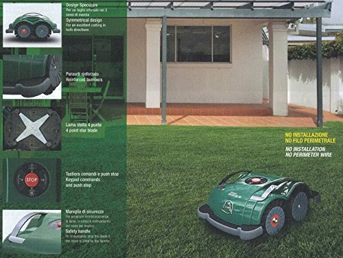 Automatic Robotic Lawn Mower Buyers Guide Ambrogio L60