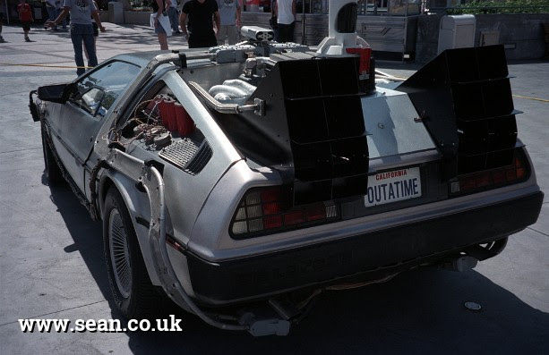 The Back to the Future time machine