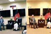 Foto Pertemuan Menlu AS dan Presiden Afganistan Diduga Dimanipulasi