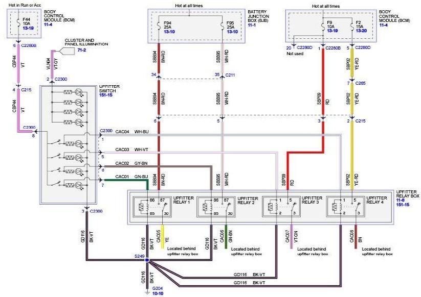 2011 F250 Wiring Diagram