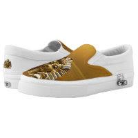 King Tut ZIPZ Slip On Sneakers, Printed Shoes
