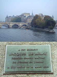 JacquesDeMolayRestingPlace