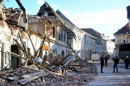 TREND ESSENCE:Strong Earthquake Strikes Central Croatia