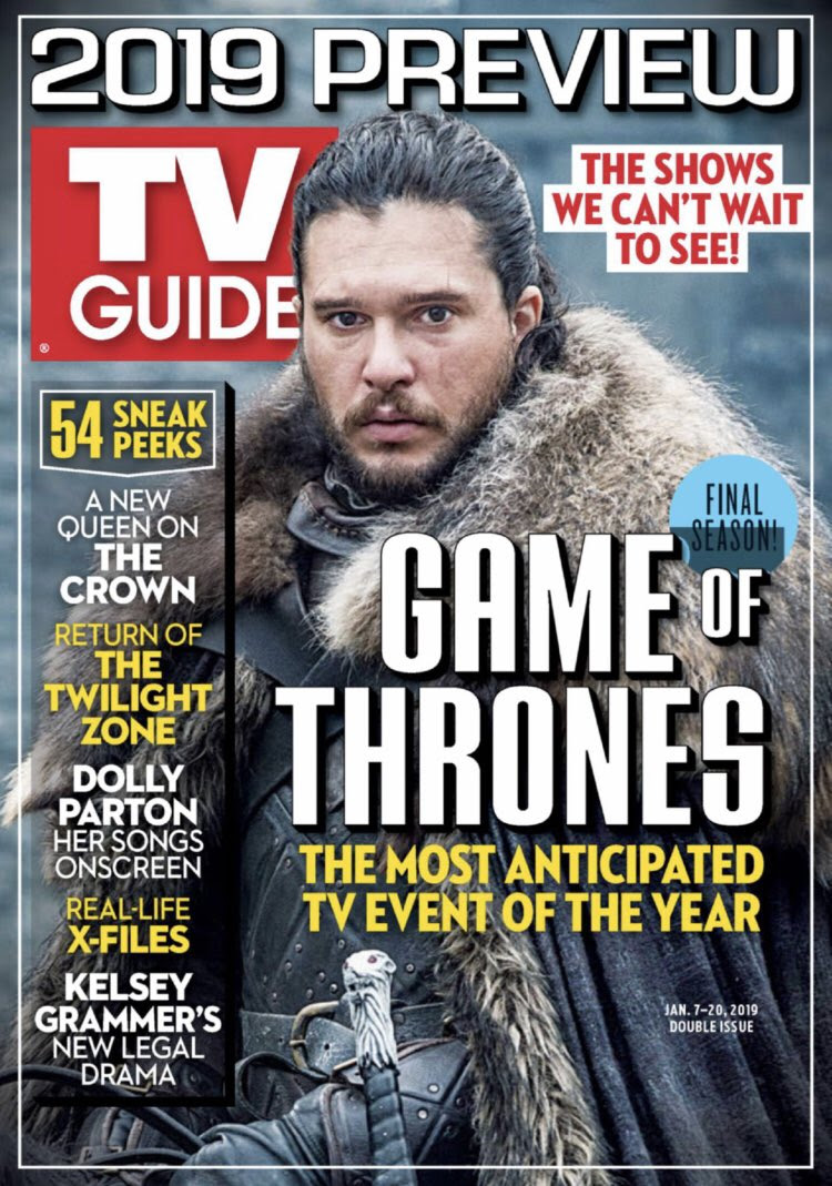 TV Guide Season 8 Cover Story