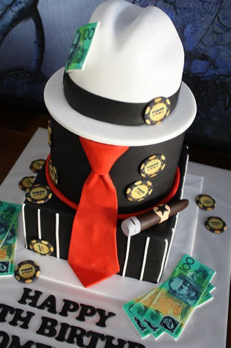 Sandy's Cakes: Dom's Gangster 40th Birthday Cake