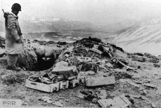 Aleutians Bunker Kiska 700