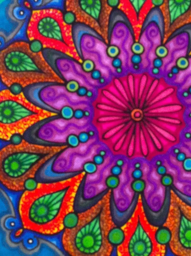 Yemaya Mándalas Colores Y Su Función