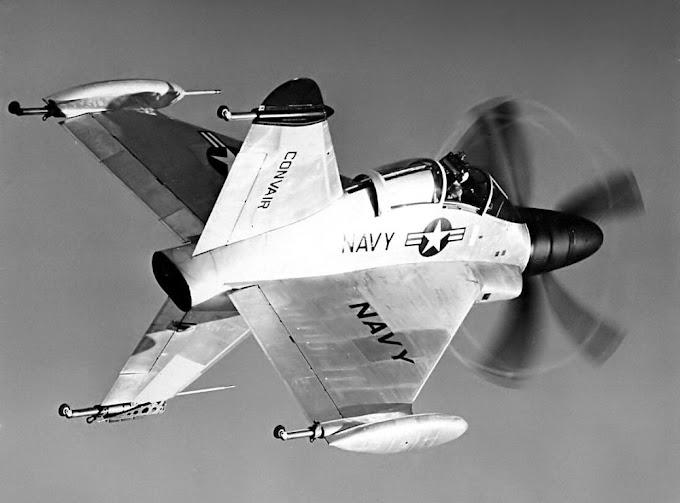 Convair XFY Pogo: este avião bizarro quase operou nos porta-aviões da Marinha dos EUA