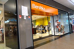 English: Bershka Store in Rennes