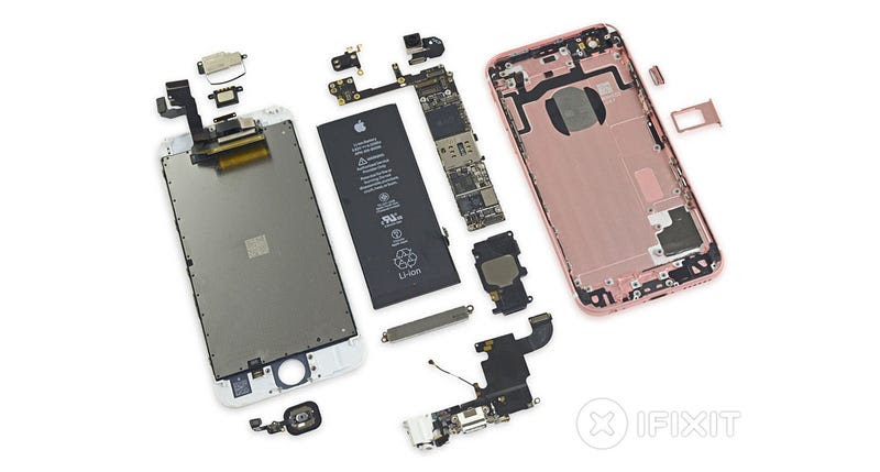 Así es el iPhone 6S por dentro: 2GB de memoria Samsung y fácil de reparar