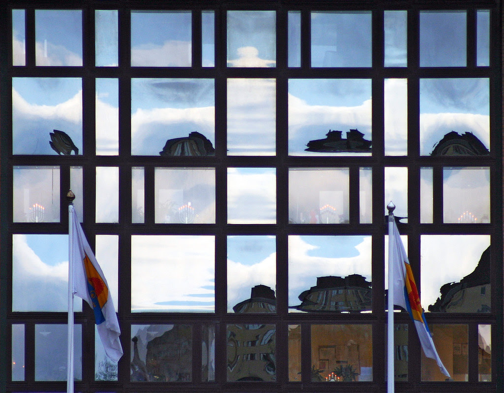 City Hall Reflection