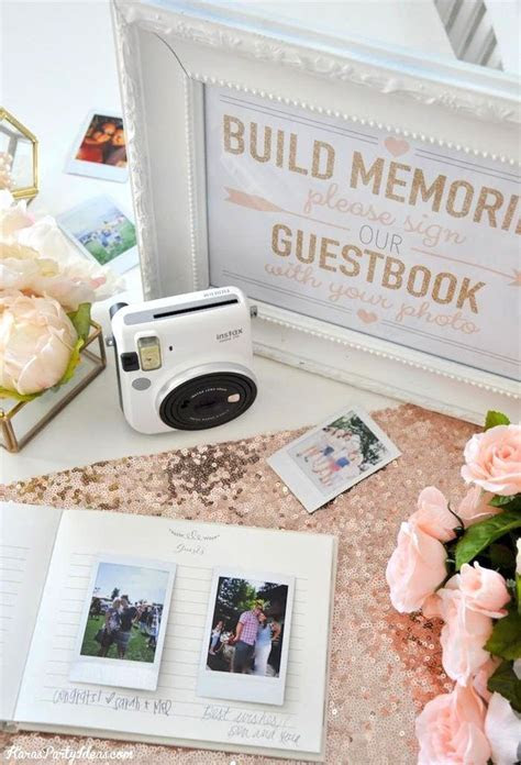 Instax Photo Guestbook for your Wedding or Shower