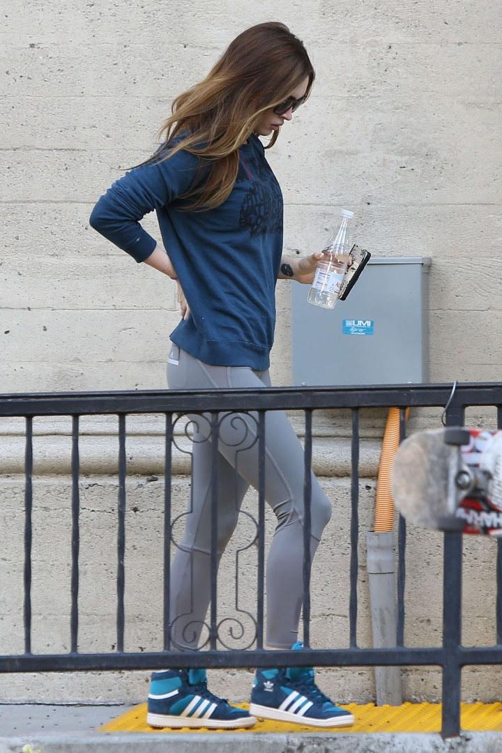 Megan Fox 2014 Pics in tights-04