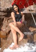 Hot Ankitha Swimsuit Pics