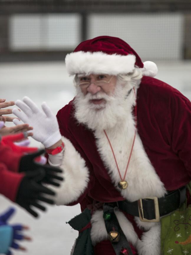 Skating With Santa 2