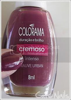 Cute Nails: Mauve Urban da coleção Colorama Urban