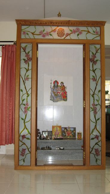 small temple door design for home  | 369 x 494