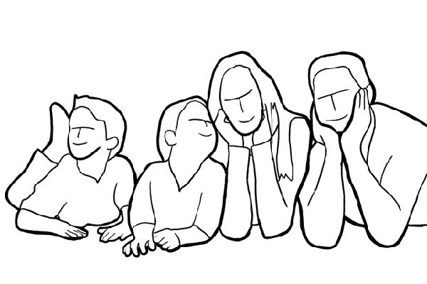 Позирование: позы для групповых портретов 14