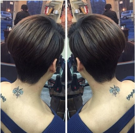 new 36 short black hairstyles with shaved back