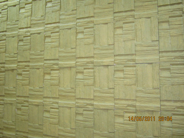"Wall in a 3 BHK ""Show"" Flat in Om Developers' Tropica, Blessed Township at Ravet PCMC, Pune 412 101"