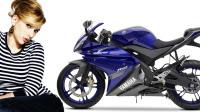 2013 Yamaha YZF-R125 race-blu